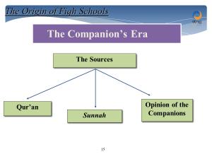 ijtihad during the companions era