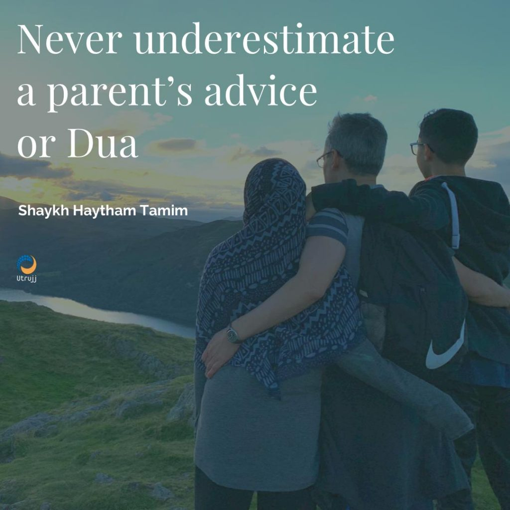a father's golden advice